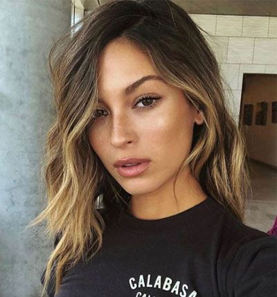 50 Best Medium Length Hairstyles For Thin Extremely Fine Hair With Images Brown Eyes Blonde Hair Blonde Hair Brown Eyes