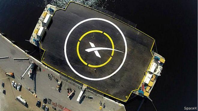 شرکت آمریکایی در صدد است موشک فضاپیما را بر سکوی شناور فرود آورد یک شرکت آمریکایی در نظر دارد موشک حامل یک سفینه فضایی را برای استفاده مجدد به زمین بازگرداند. روز سه شنبه، ۱۶ دی (۶ ژانویه)، قرار است یک موشک حامل محمولهای به وزن بیش از دو تن از پایگاه هوایی کیپ کاناورال در کالیفرنیا به فضا پرتاب شود و پس از انجام ماموریت، قطعات آن سالم بر یک سکوی شناور در اقیانوس آرام فرود آید.