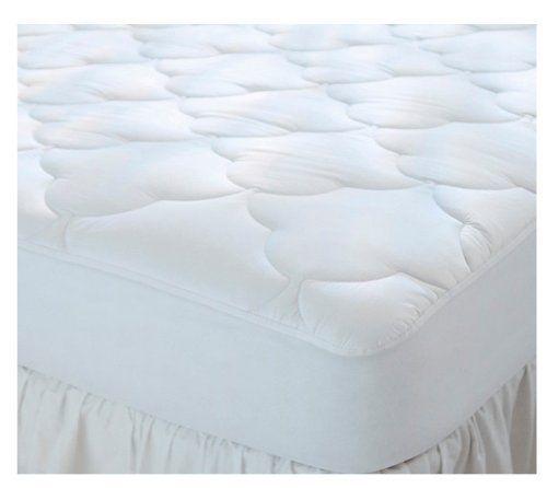 Amazon Com Quilted Cot Size Waterproof Cotton Top Camp Mattress Pad 30 X 75 X 10 Home Kitchen Mattress Pad Cotton Mattress Mattress