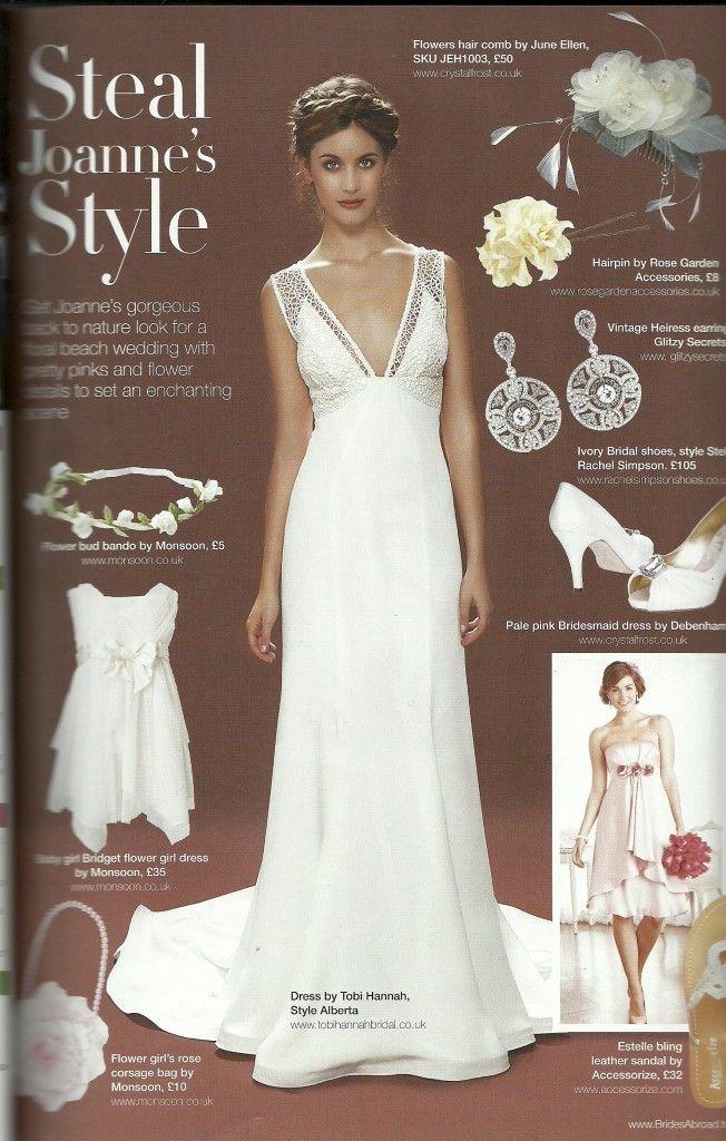 Lara Hannah Alberta Wedding Dress In Brides Abroad Magazine