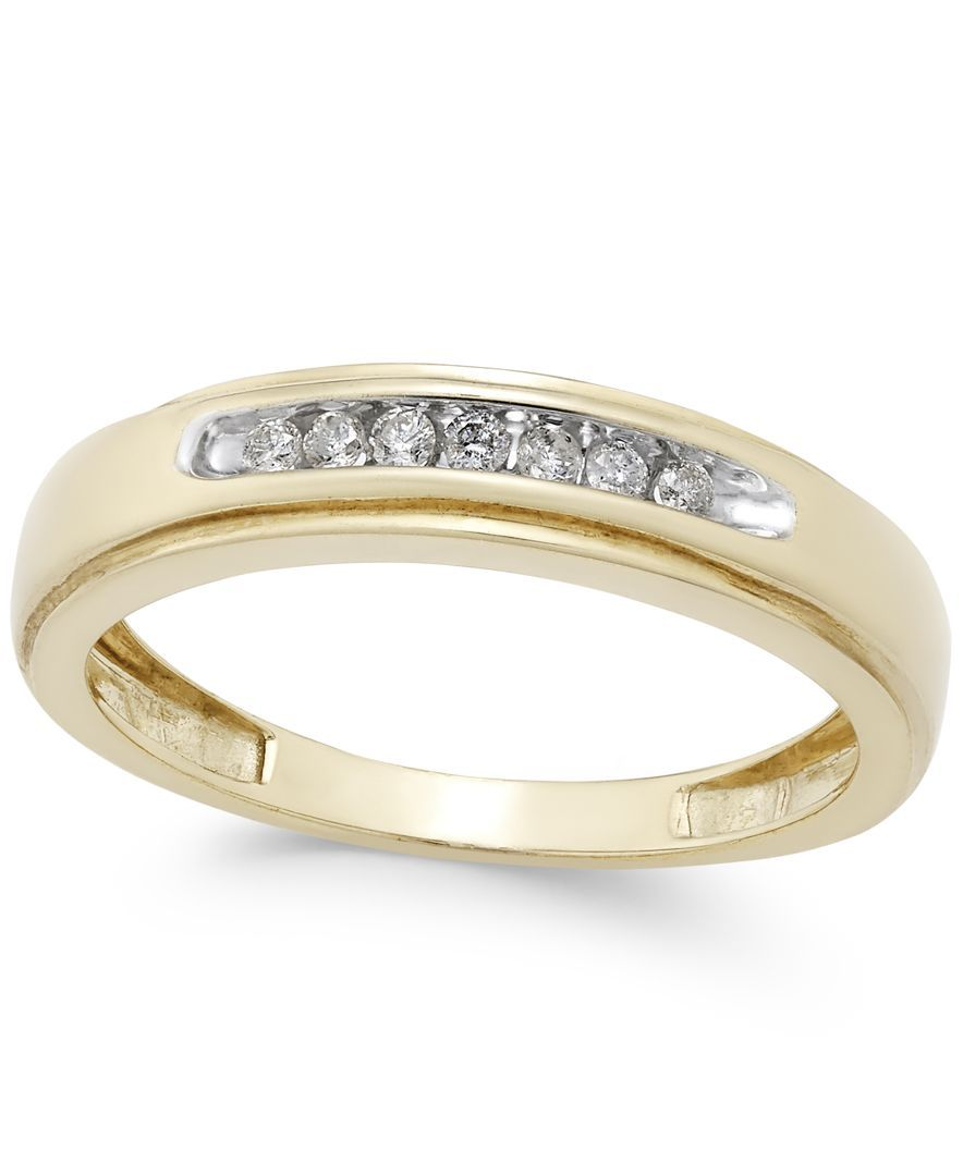 Menus diamond band ct tw in k gold shops products and