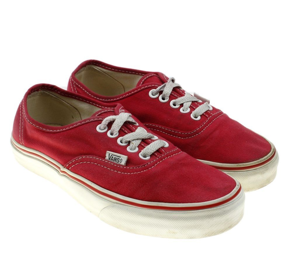 2c87dae1e896 Vans Off the Wall Classic Red Sneakers Skate Shoes Womens Size 8.5 Mens  Size 7  VANS  skateboarding  sneakers