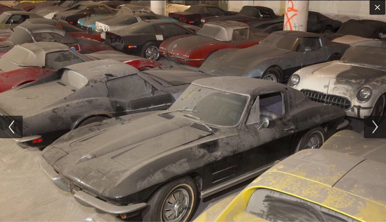 the vh1 corvette collection found in a parking garage 25 years the vh1 corvette collection found in a parking garage 25 years later this has to