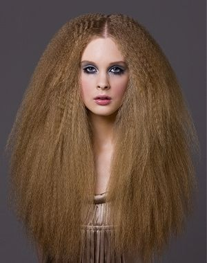 Crimped Hair Crimped Hair Curly Hair Styles Hairstyle Gallery