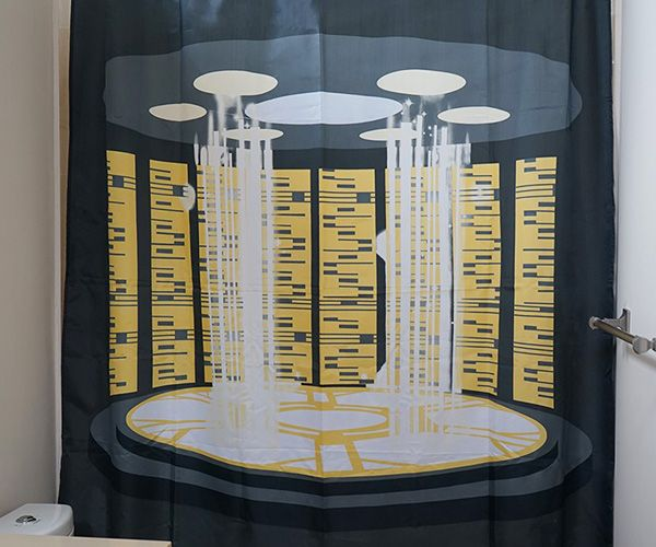 Star Trek Tng Transporter Shower Curtain Cool Sh T I Buy Cool