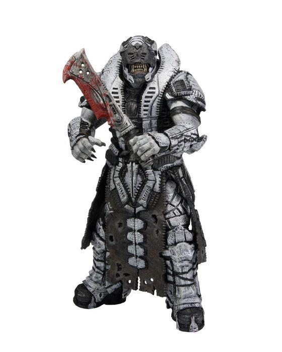 "NECA SDCC Exclusive Gears of War 3 Elite Theron 7/"" Action Figure"