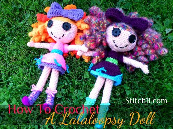 Amigurumi Doll Lalaloopsy Pattern : Free crochet lalaloopsy crochet pattern ☀cq crochet thanks so