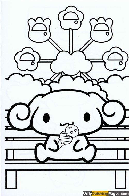 Cinnamoroll Coloring Pages Coloring Books Star Coloring Pages Coloring Pages