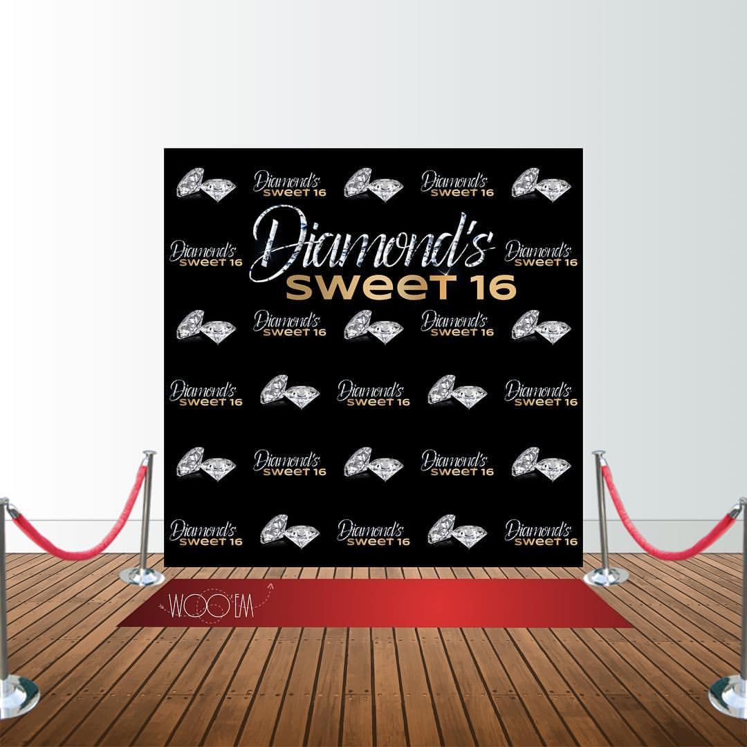 Sweet 16 Banner / Step And Repeat See This Instagram Photo