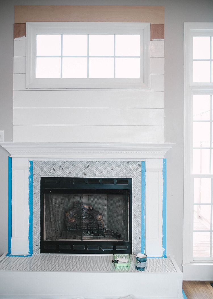 How to Brighten Up a Room with a Tile Fireplace Makeover ...
