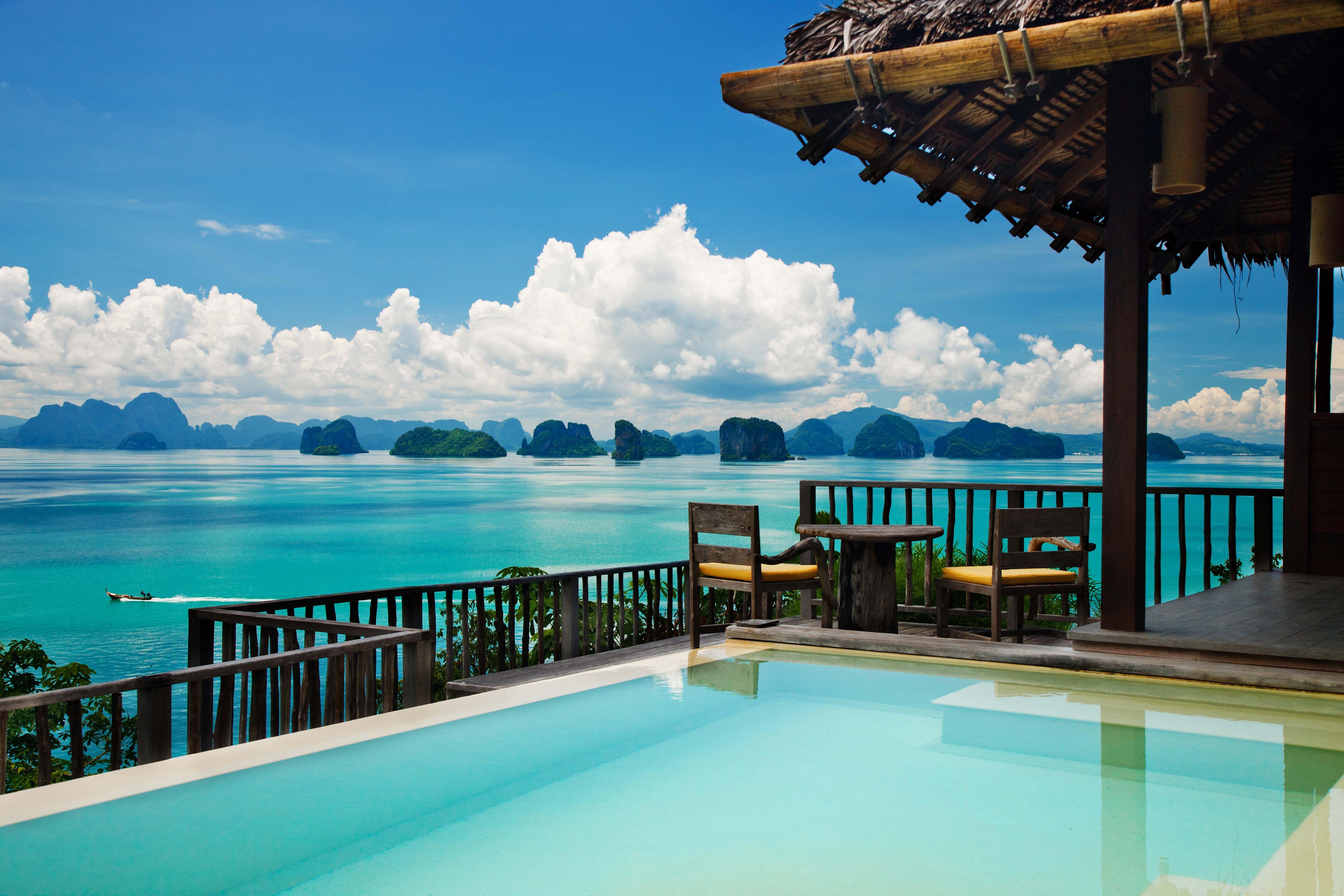 Urlaub auf die schönste Art und Weise. Sommer, Insel , Meer, türkises Wasser, Summer, Sunshine, Vacation. ©EWTC