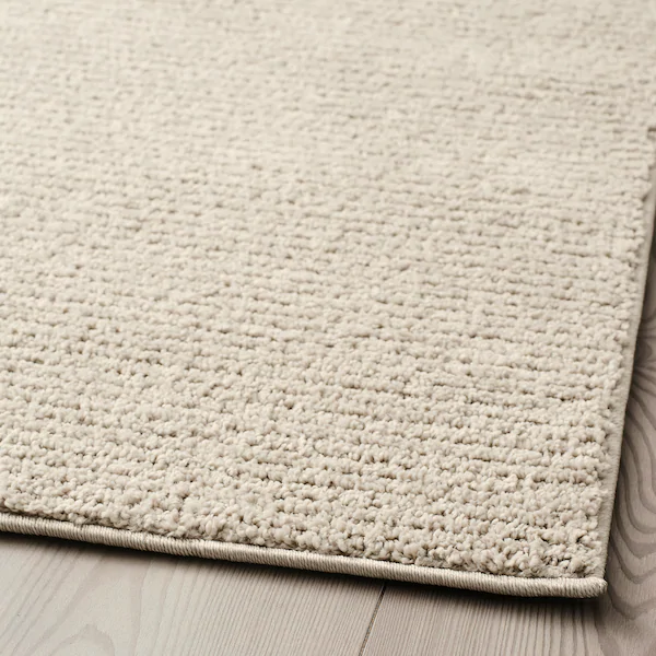 Ikea Sporup Light Beige Rug Low Pile Rugs In 2019