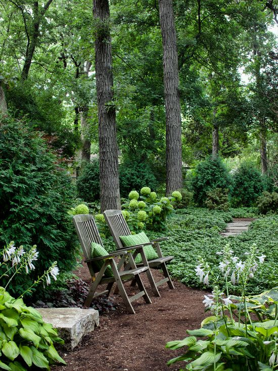 images about my dream backyard on, shady backyard landscape ideas, shady garden landscaping ideas