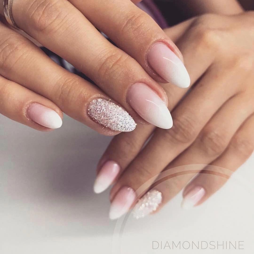 Photo of Cudny babyboomer od @__diamondshine__ 💅🏼 #nails #naildesign #nailsinspirat…
