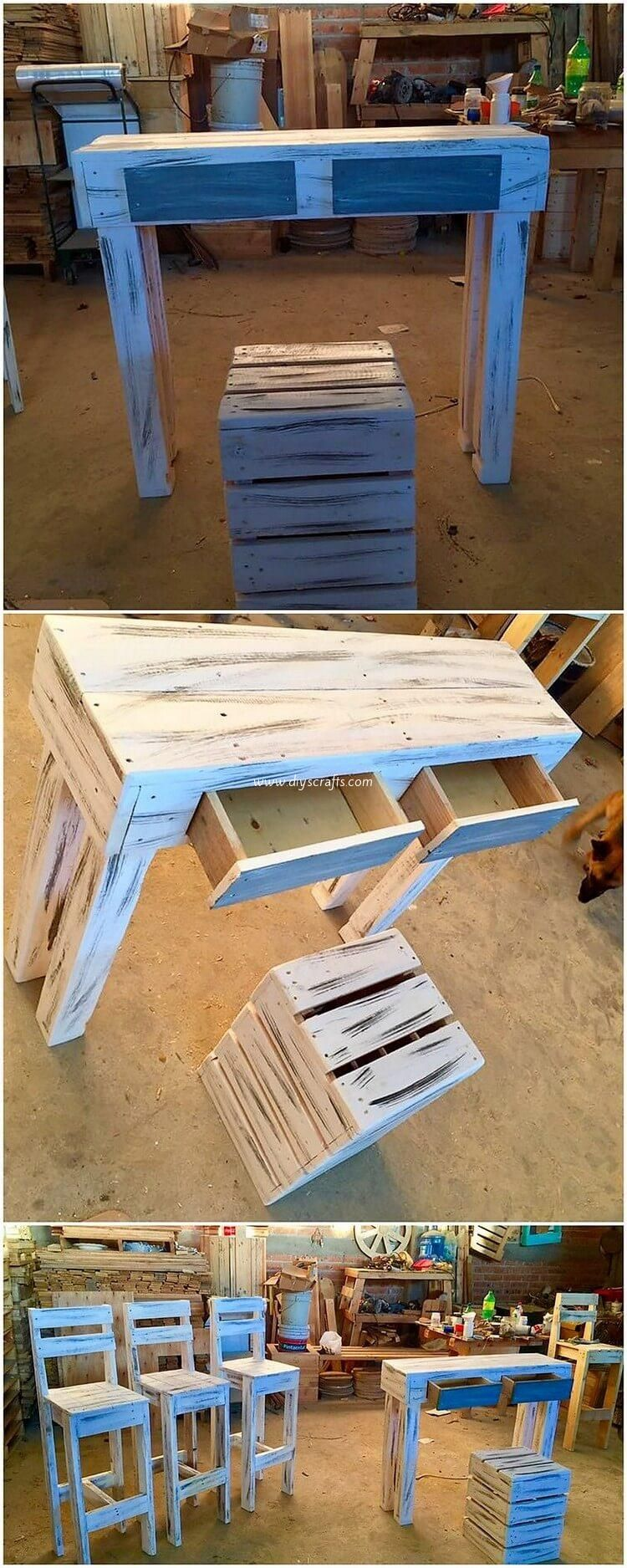 Fresh Ideas for Old Wood Pallets Recycling #oldpalletsforcrafting