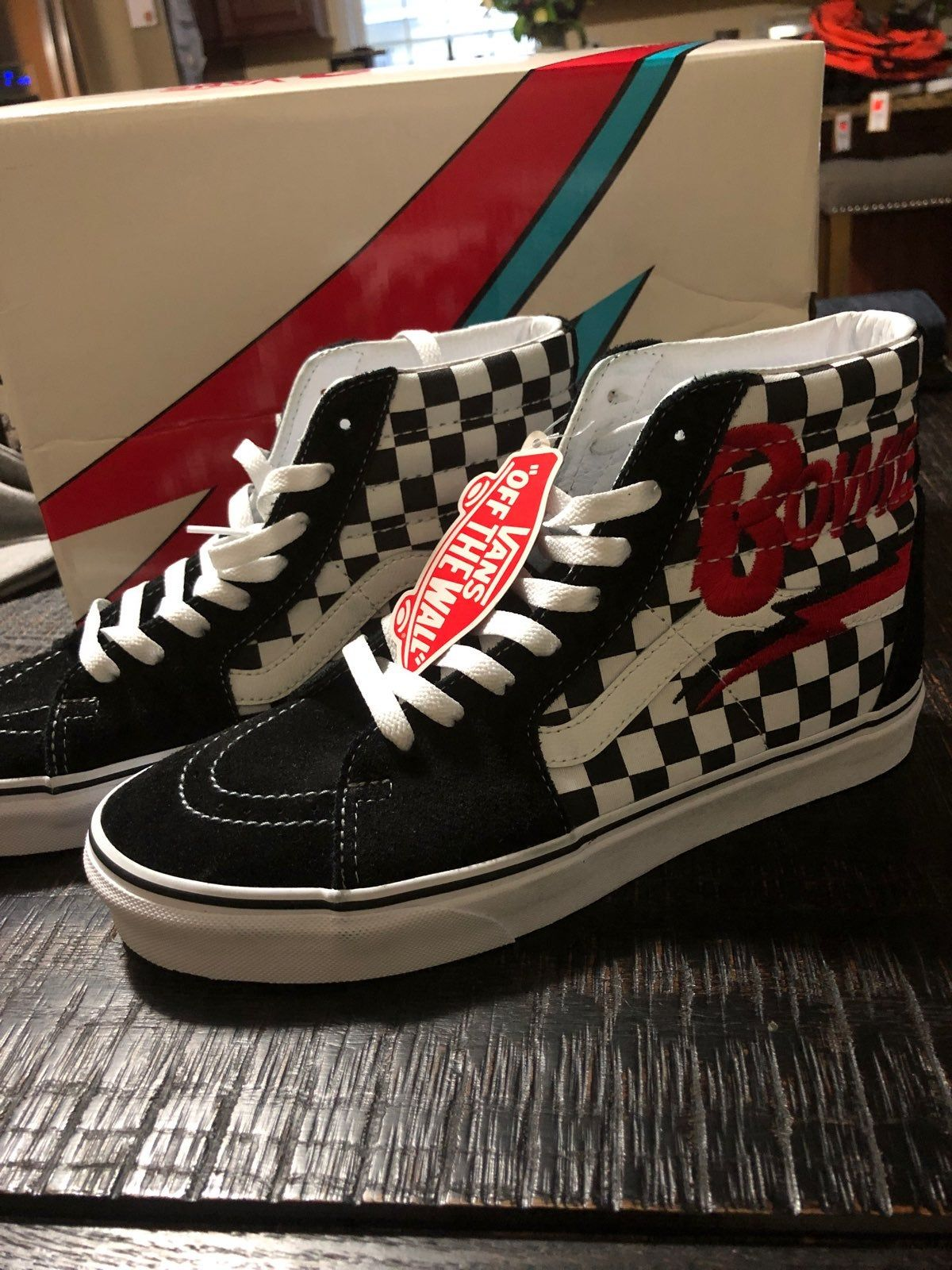 Vans x David Bowie limited edition Sk8
