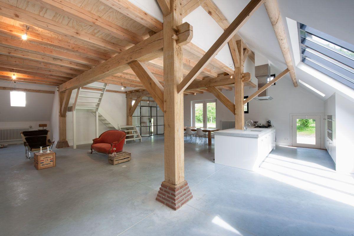 Restauratie monumentale t boerderij kerk avezaath for Boerderij interieur ideeen