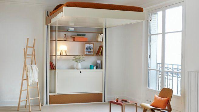 j 39 aime cette photo sur et vous lit escamotable espaces minuscules et salle manger. Black Bedroom Furniture Sets. Home Design Ideas
