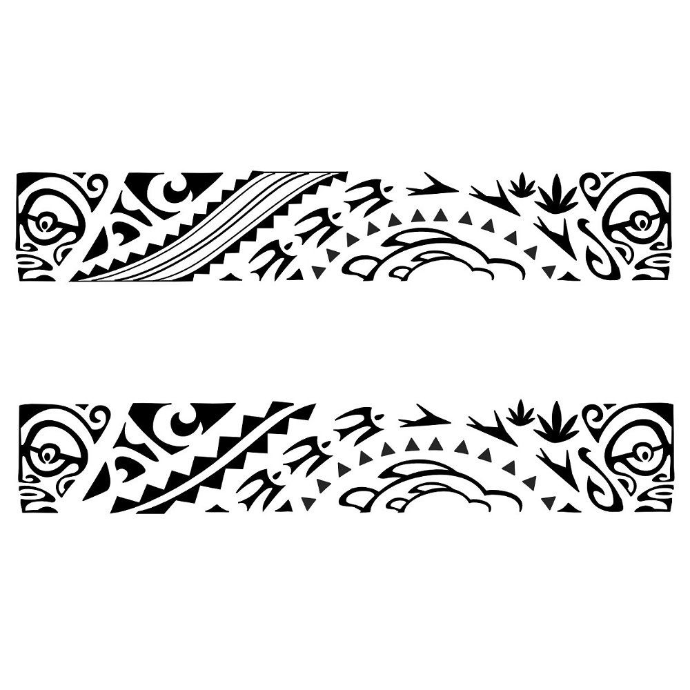 Polynesian Tribal Band Tattoo Designs