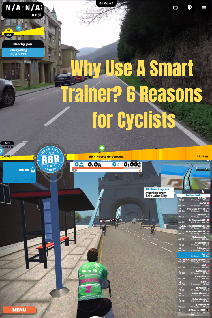 Why Use A Smart Trainer 7 Reasons To Consider For Road Cyclists