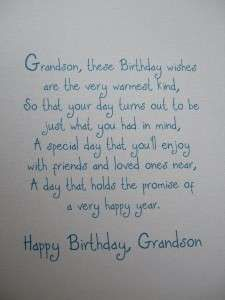 Image result for Birthday Poems for Grandson