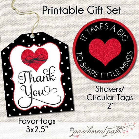 photo relating to It Takes a Big Heart to Shape Little Minds Printable titled Instructor Appreciation - Trainer Reward - It Requires a Substantial Middle