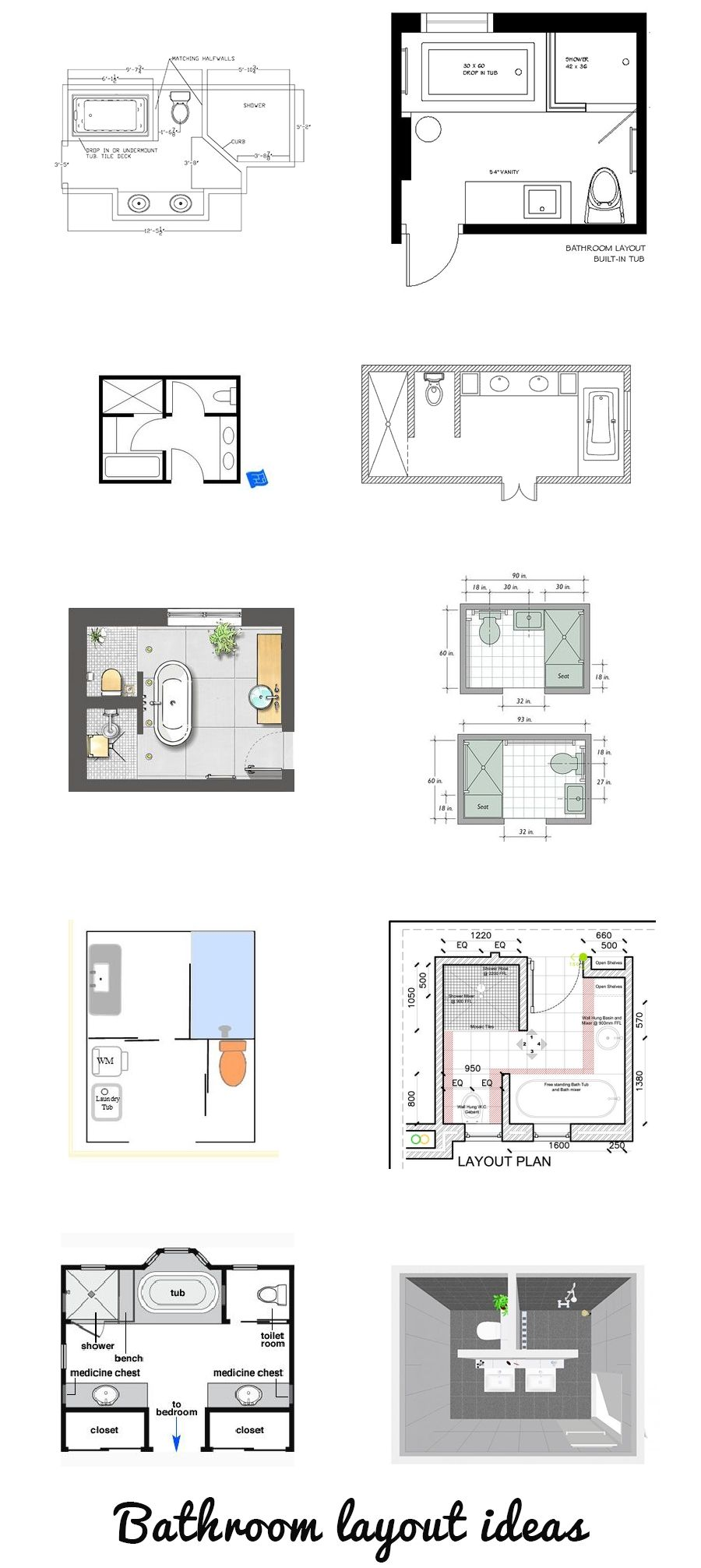 Most Amazing 12 Insanely Beautiful Bathroom Layout Ideas Australia Ij09w2 Https Ijcar 2016 Bathroom Design Layout Small Bathroom Layout Bathroom Floor Plans