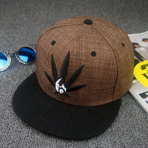 Cool Hip Hop Marple Leaf SnapBacks