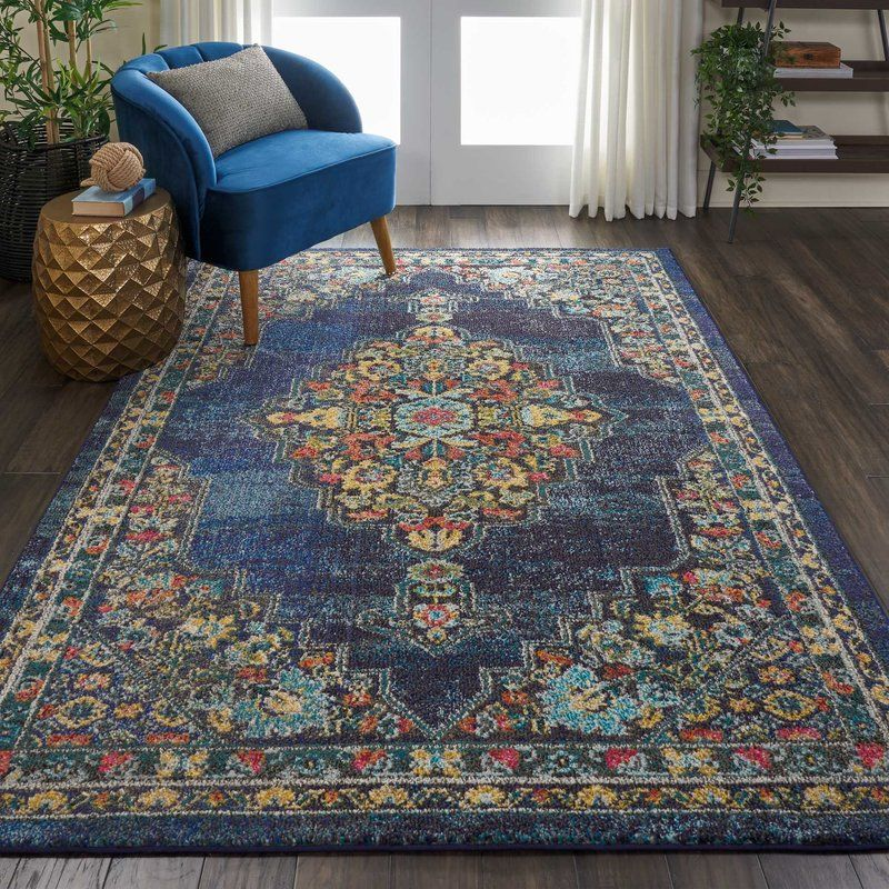 Lundy Blue Area Rug Living Room In 2019 Beige Rugs