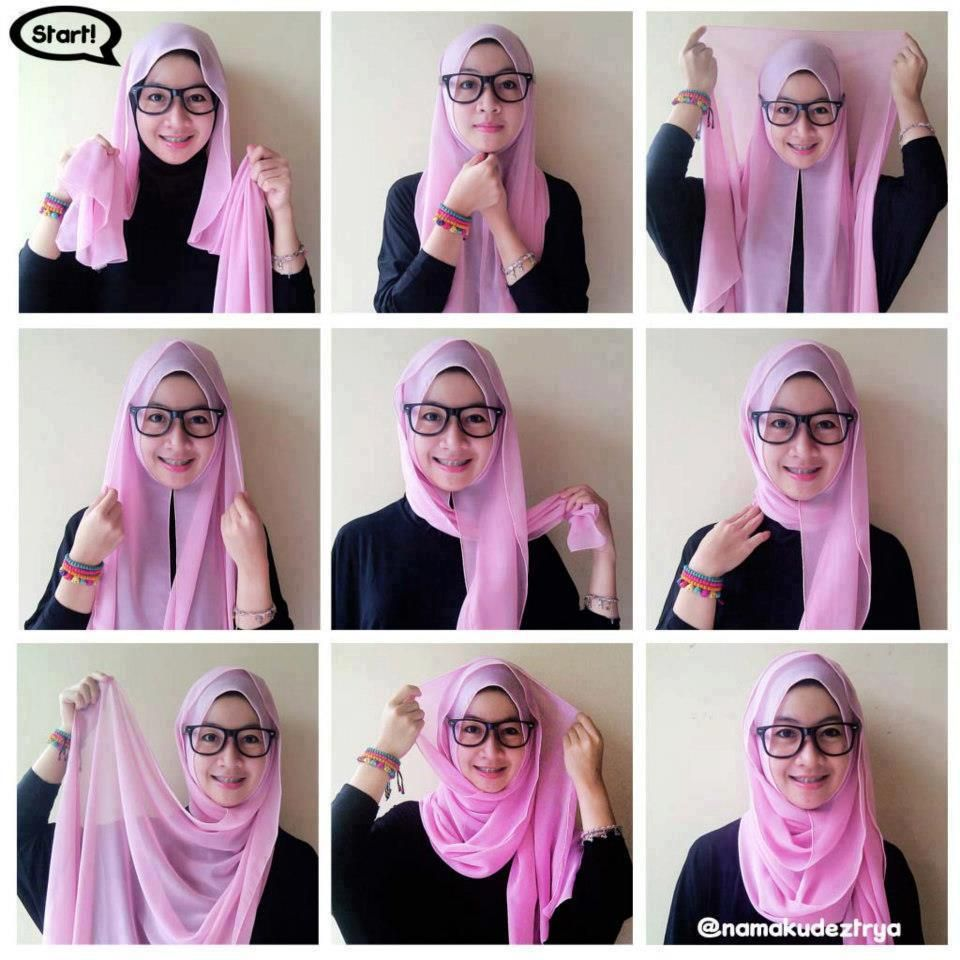 1000 Images About Hijab Fashion Style On Pinterest How To Wear