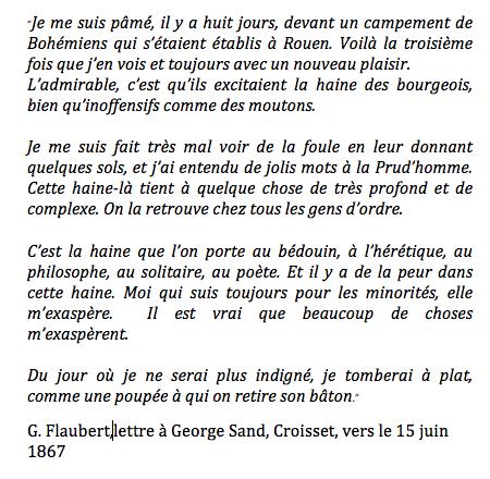 george sand lettre bromazepam: lamemoiredesjours: Gustave Flaubert   Lettre à George  george sand lettre