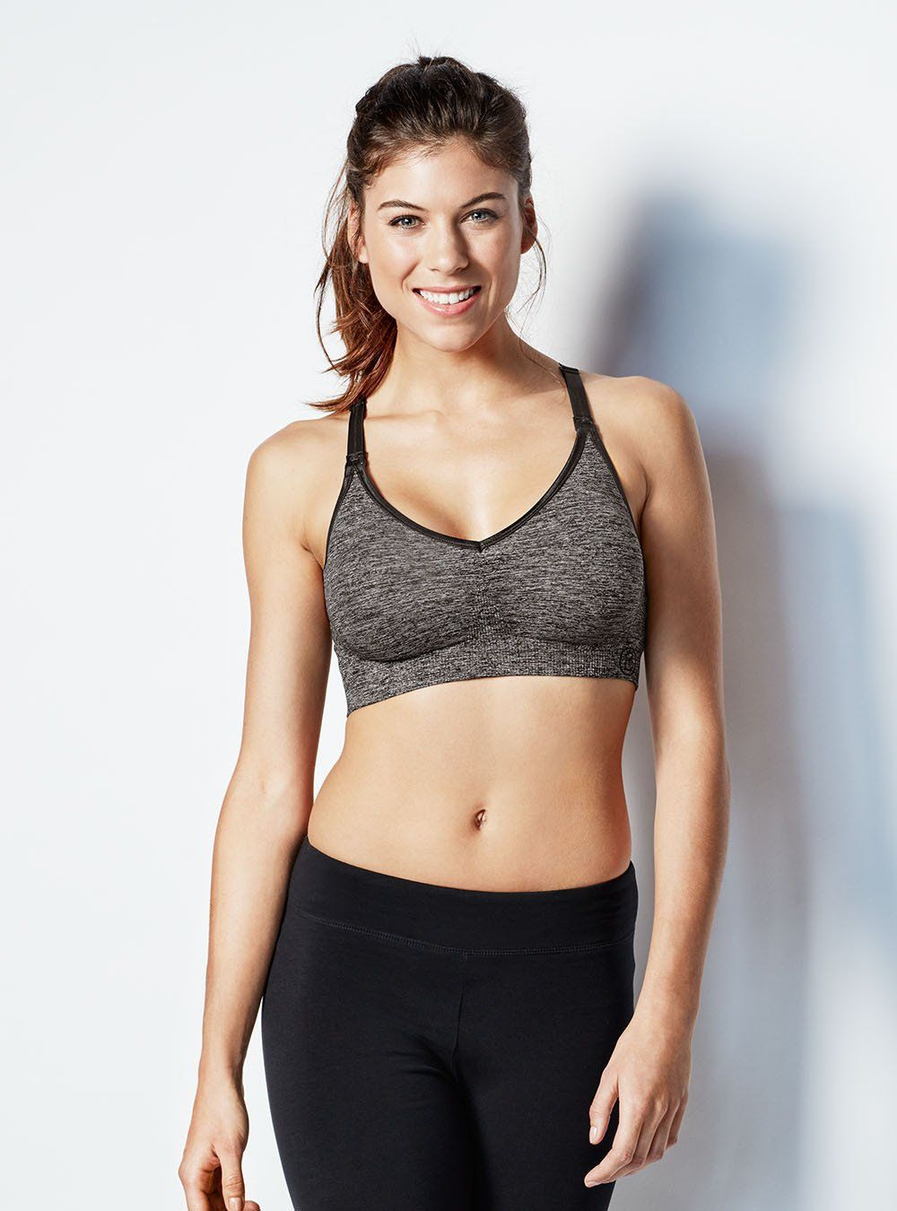2a5caeb963753 The Body Silk Seamless Yoga Nursing Bra is ideal for your everyday active  lifestyle. It