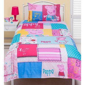 Peppa Pig Patchwork Quilt Cover Set Target Australia