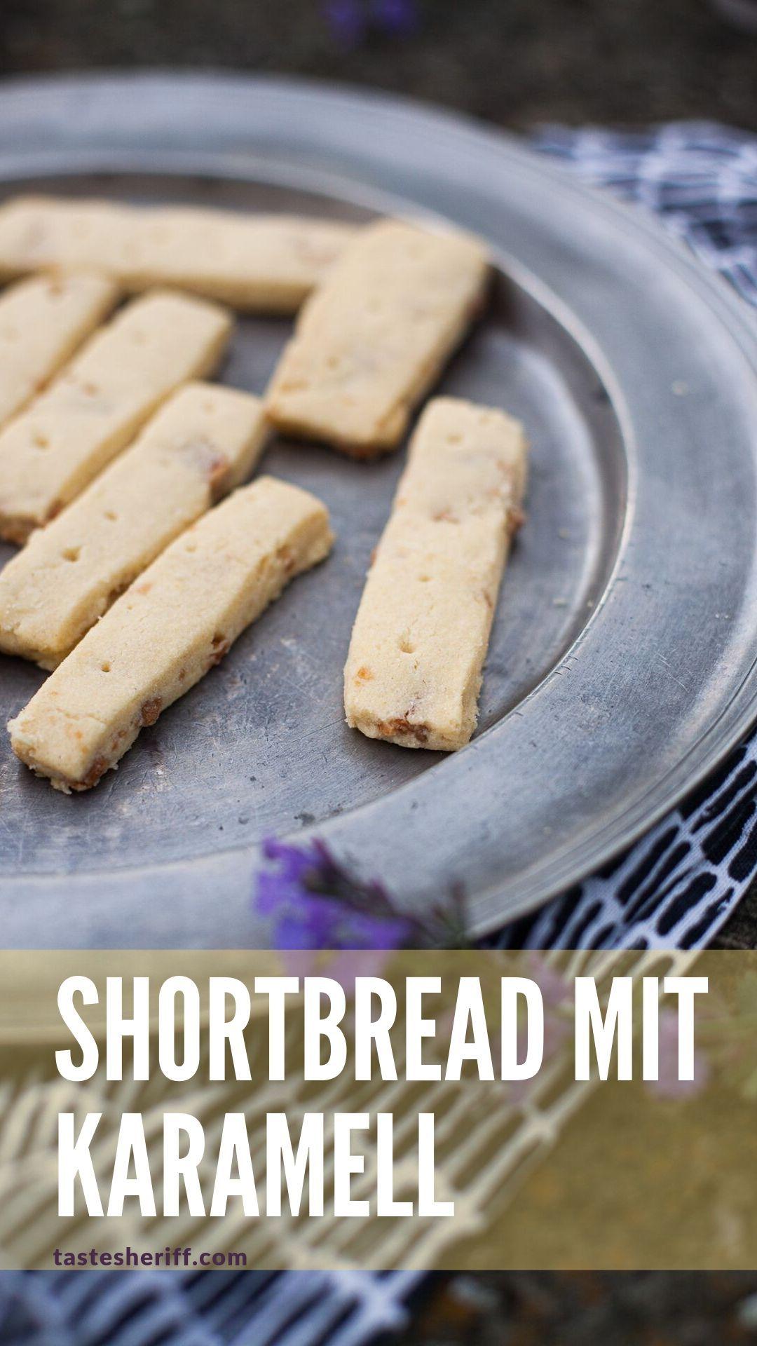 Shortbread Mit Karamellstuckchen Rezept Lebensmittel Essen Shortbread Und Rezepte