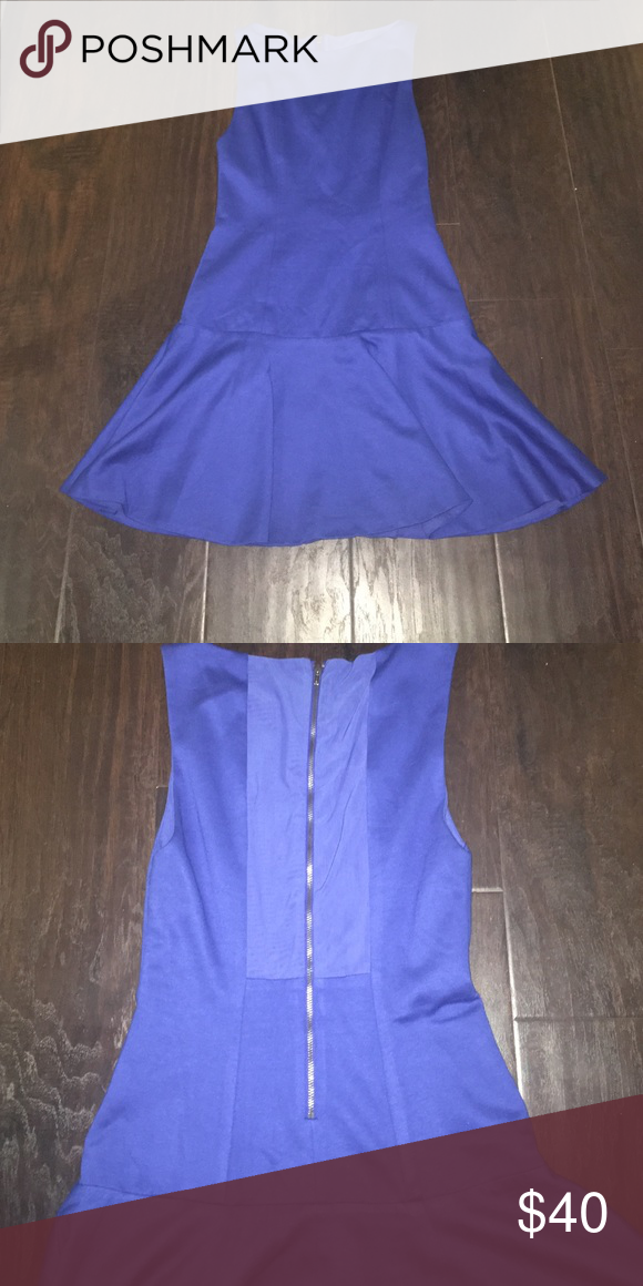 Alice & Olivia drop waist dress with back detail Worn 2x-also great for layering Alice + Olivia Dresses