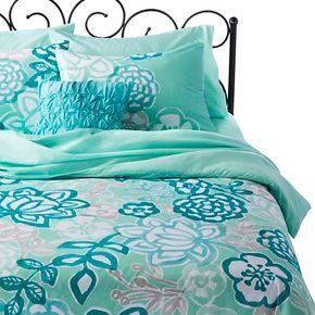 Xhilaration Jersey Floral Bed In A Bag Caroline Room Updated