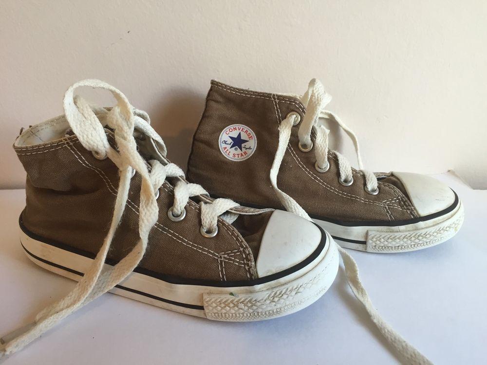 Toddler boys Converse Shoes Brown high