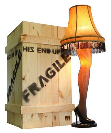 A Christmas Story Lamp.My Halloween Costume Idea Be The Leg Lamp Off Of A