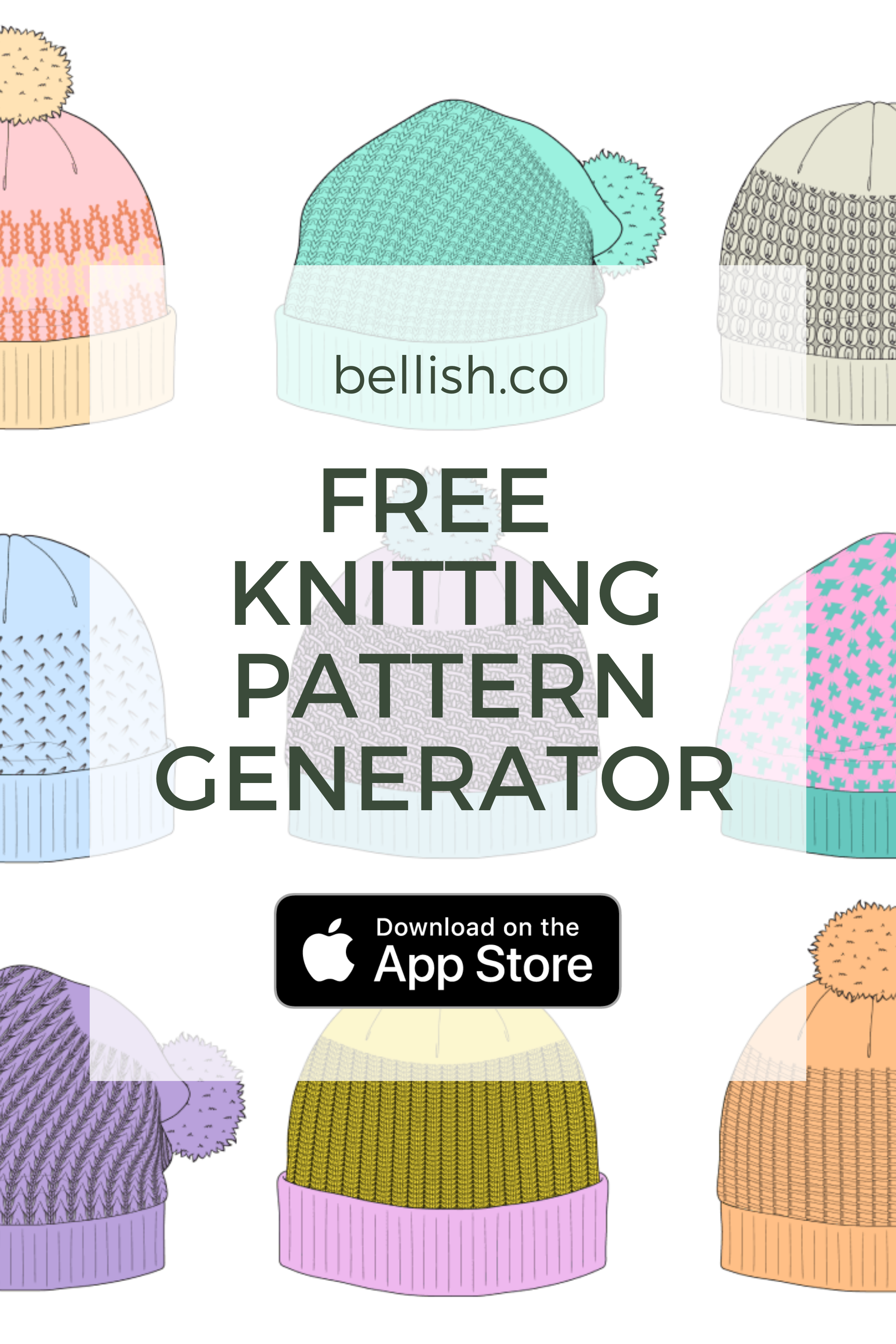 Personalize your next sweater with the free knitting pattern ... | 3306x2205