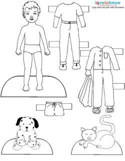 Printable Paper Dolls And Clothes Paper Dolls Printable