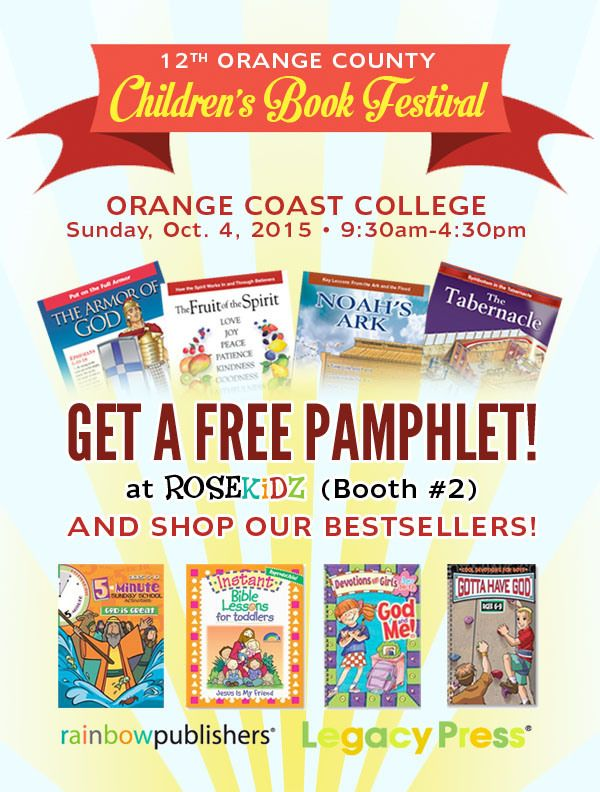 RoseKidz at the OC Childrenu0027s Book Festival u2013 Free Pamphlet - free pamphlet