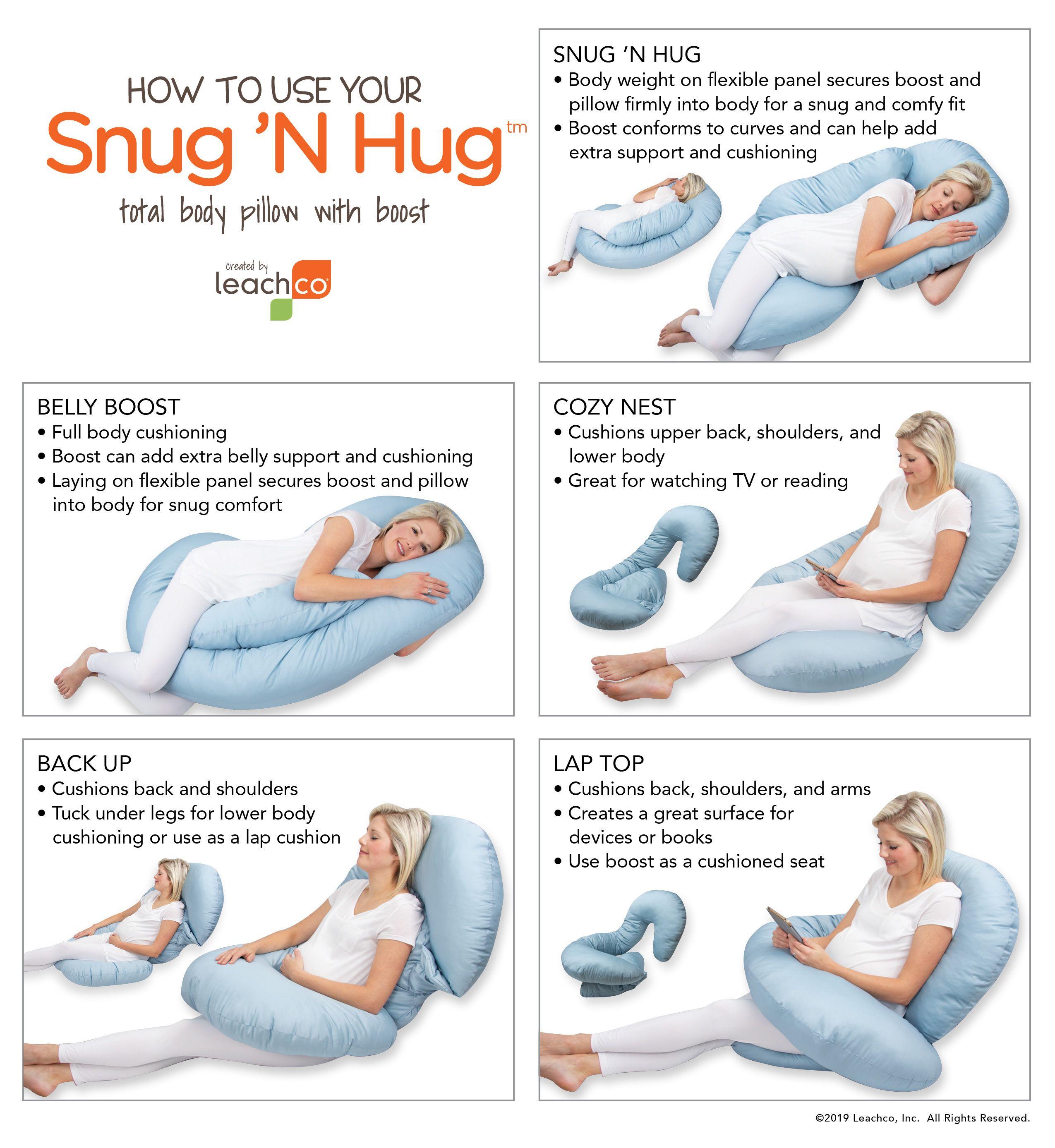 Snug N Hug Body Pillow Postpartum Care Kit Postpartum Care