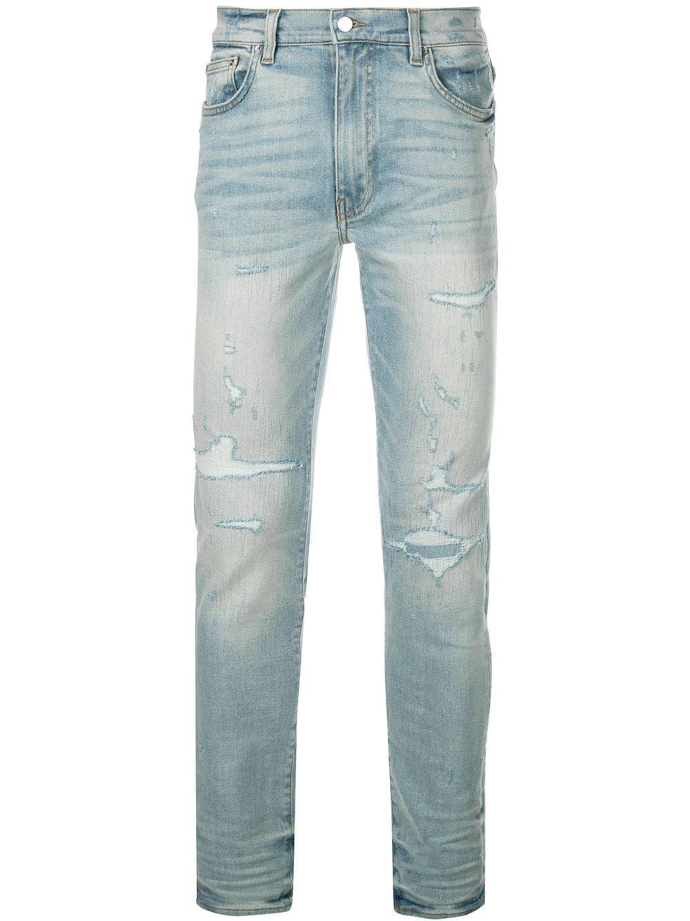 8b7754ce AMIRI AMIRI BOOTCUT SKINNY JEANS - BLUE. #amiri #cloth | Amiri in 2019 |  Jeans, Skinny jeans, Stretch denim