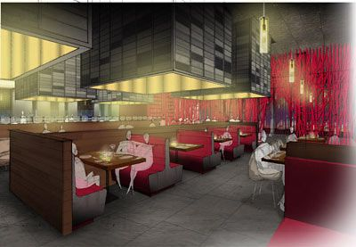 Restaurant rendering #interiordesign #decor #design #interior #home #style #rendering