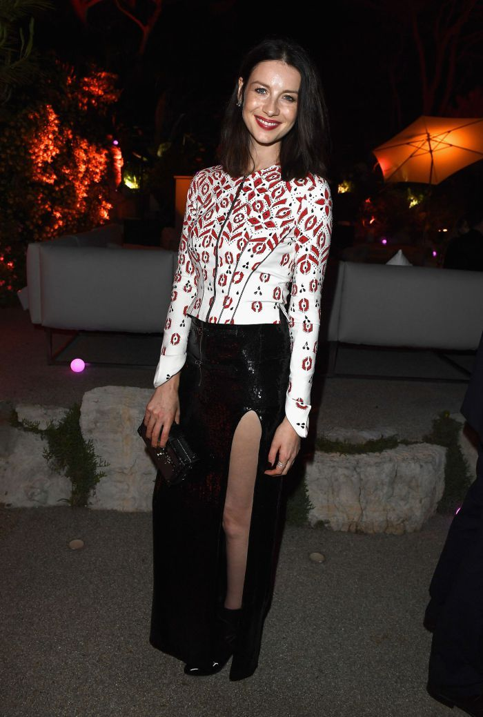 New HQ Pictures Of Caitriona Balfe At The Vanity Fair Party In Cannes See  More After