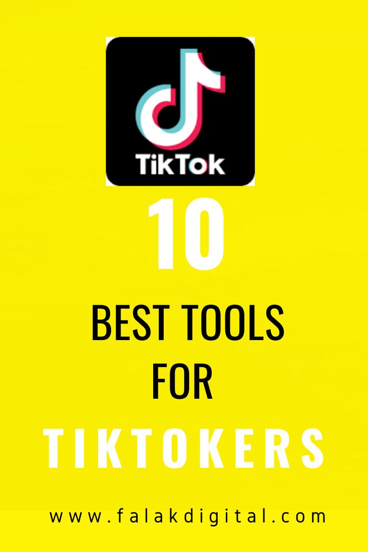 Top 10 Tools For Tiktok Social Media Marketing Business Marketing Strategy Social Media Social Media Marketing Tools