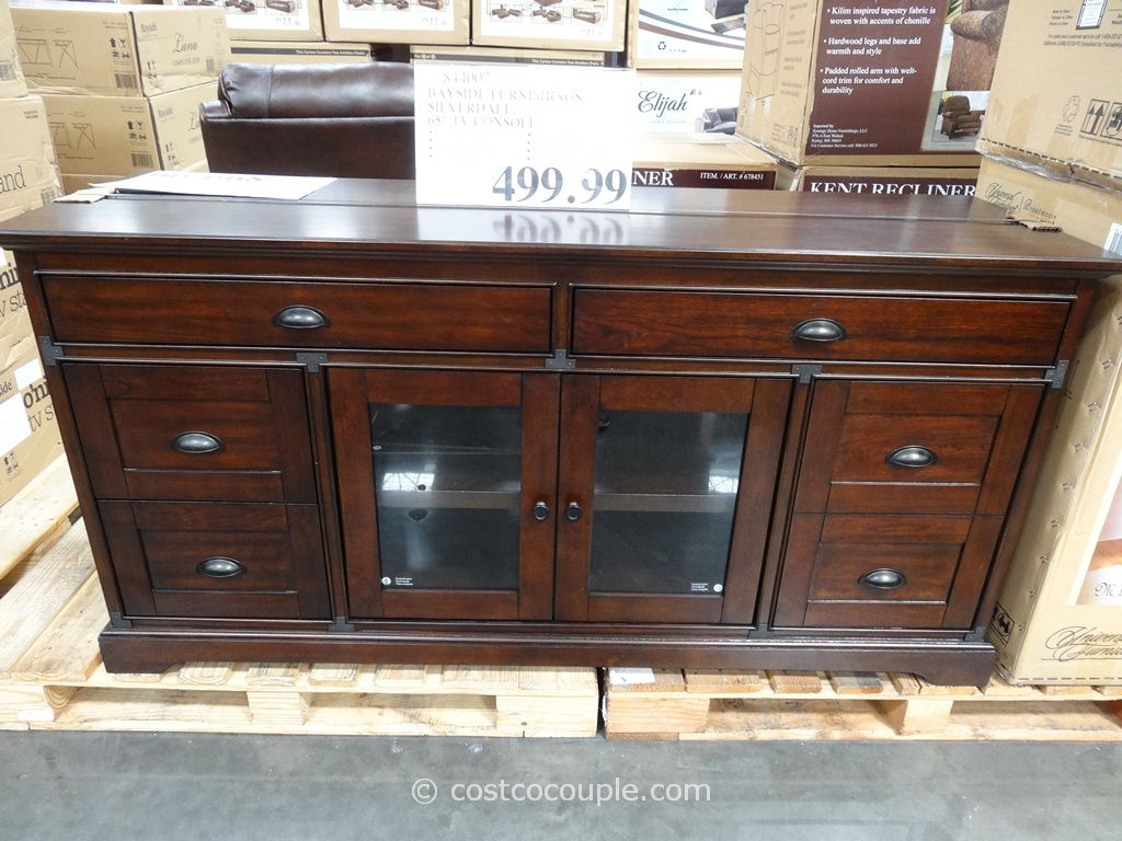 Bayside Furnishings Silverdale 65 Inch Tv Console Costco Apartment