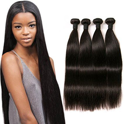 Daimer Straight Natural Hair Extension Brazilian Hair Weave 4