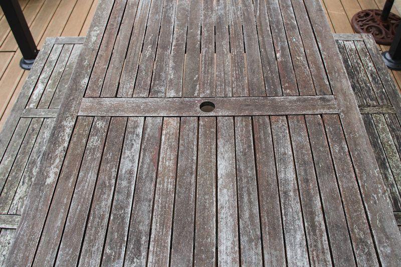 Rénover une table de jardin en bois   Wonderful Breizh ...