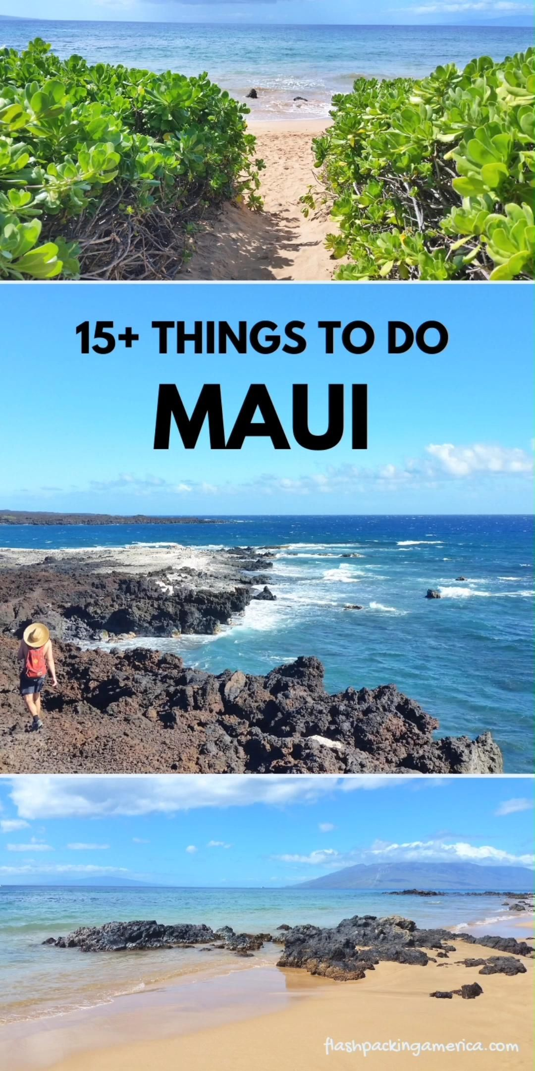 List of great things to do in Maui Hawaii - US bea
